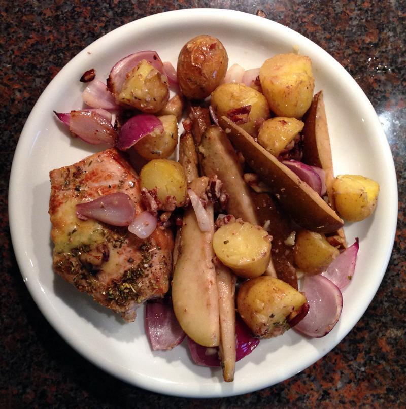 Gousto - Stilton and Pork Steaks Ingredients