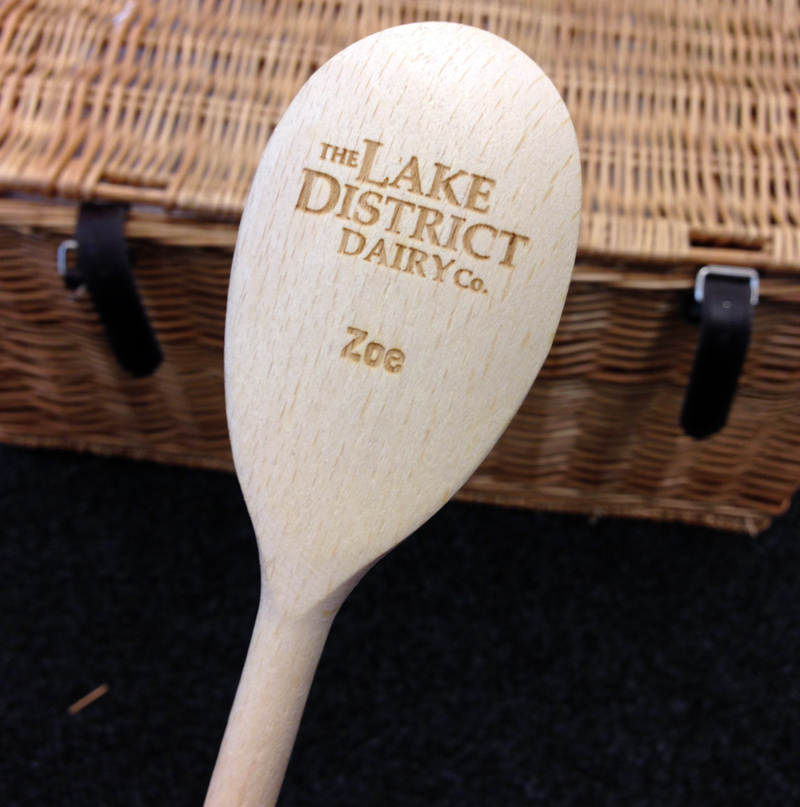 The Lake District Dairy Co Wooden Spoon