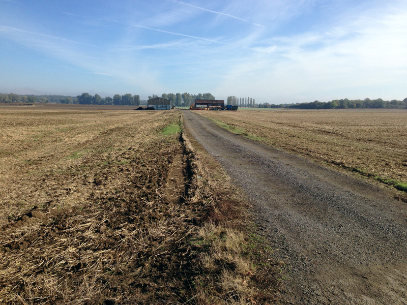 Farmland close to Metheringham