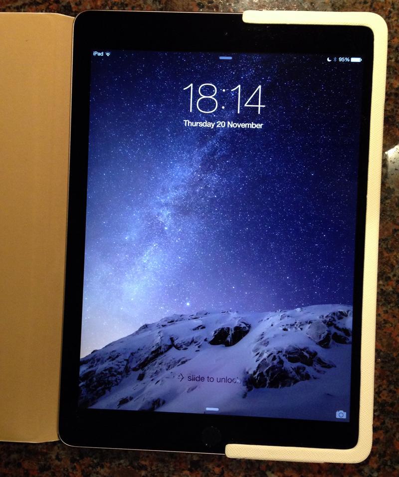 Krusell Malmo FlipCover for iPad Air 2 - White