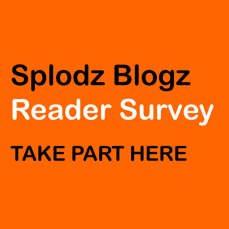 Take Part in the Splodz Blogz Reader Survey