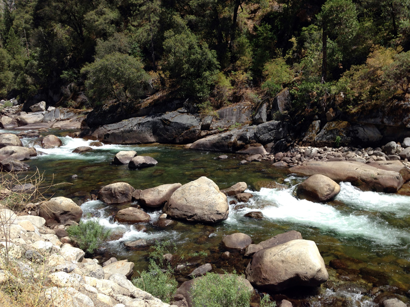 Merced River, El Portal, Yosemite National Park