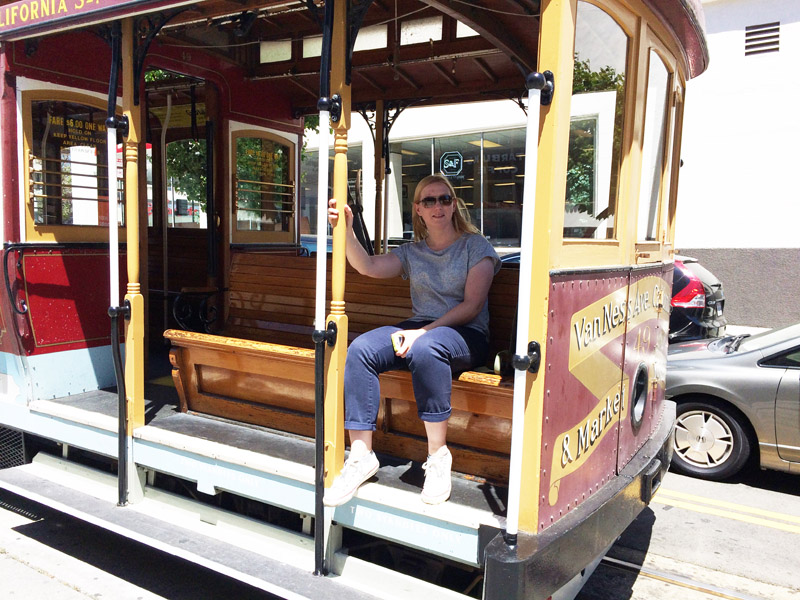 On the San Francisco Cable Car