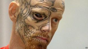 Eyeball Tattoos (image from BBC)