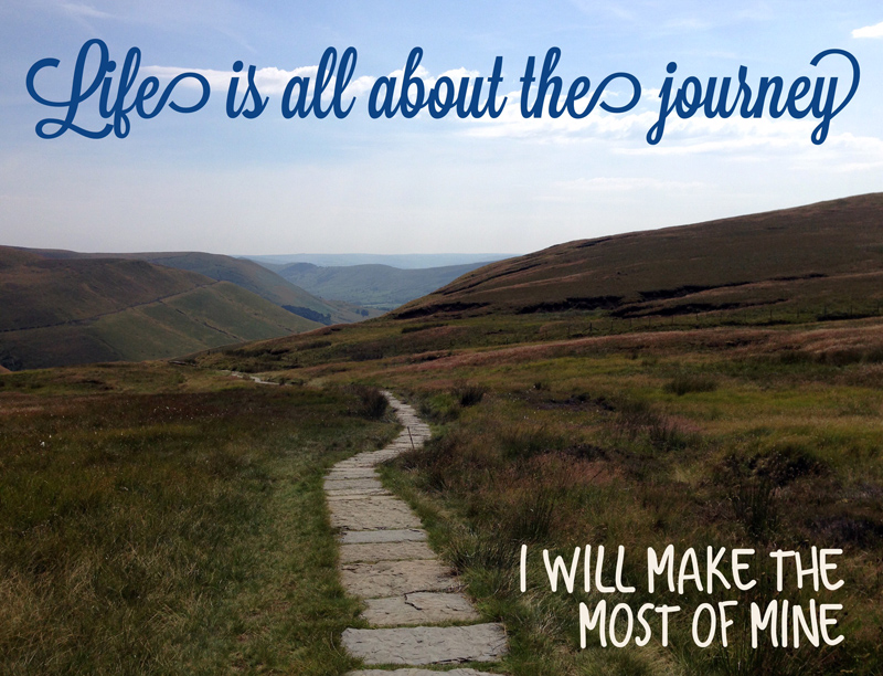 Bucket List Image - Life is all about the Journey