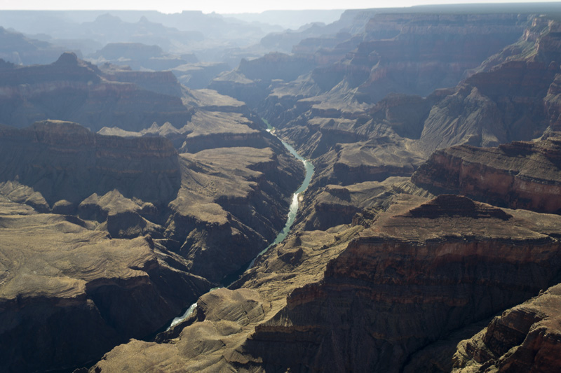 The Grand Canyon from the helicopter