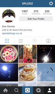 The Instagram Profile Screen