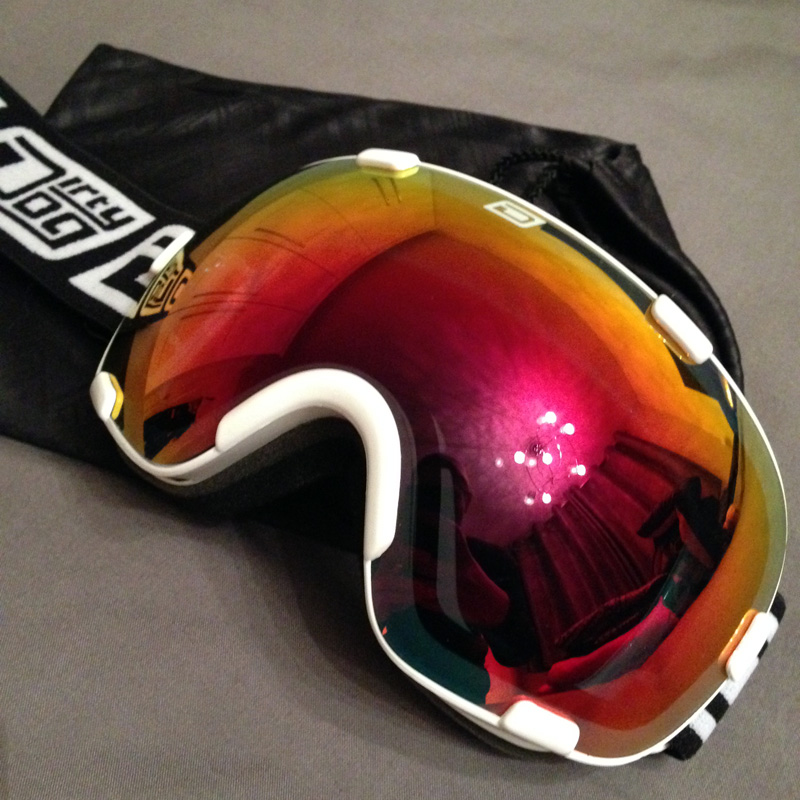 Dirty Dog Afterburner Ski Goggles from Ski & Trek