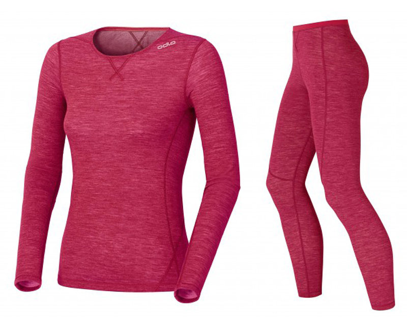 Odlo Revolution Warm Sports Underwear Base Layer Pink (image from Odlo)