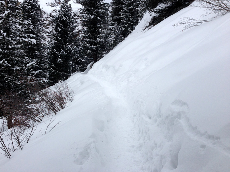 Winter Hike in Obergurgl - Can you make out the trail?