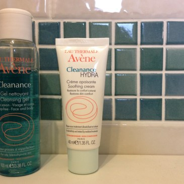 On Having Fickle Skin. Review: Avène Cleanance