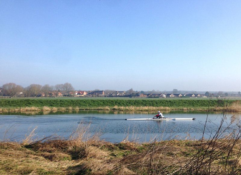 The Water Railway from Lincoln to Boston - Rower