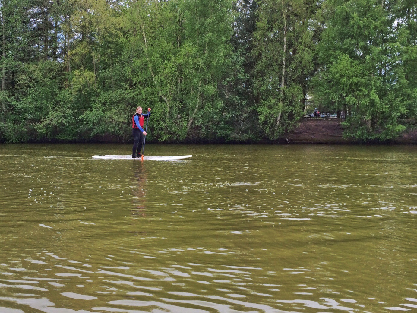 A Standup Paddleboard (SUP) Lesson