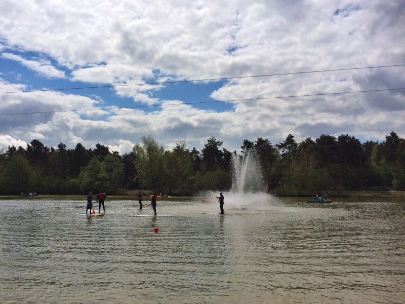 At Center Parcs - SUP Stand Up Paddleboard Lesson Lake
