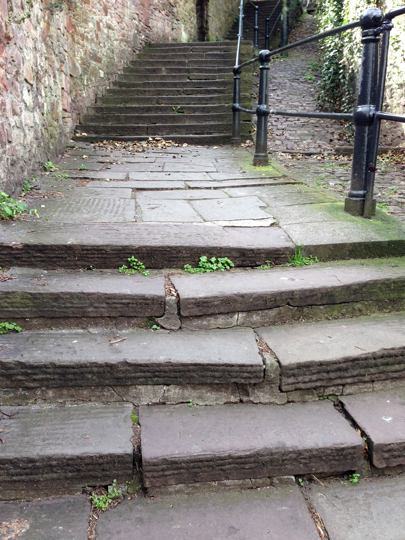 Exploring Bristol - White Hart Steps