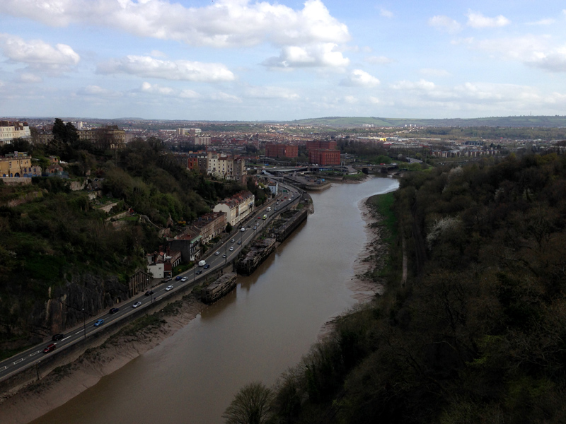Exploring Bristol - From Clifton Suspension Bridge