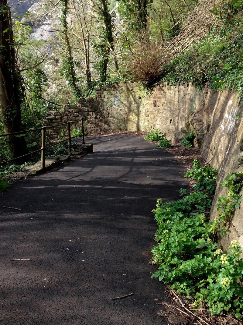 Exploring Bristol - Zig Zag Path