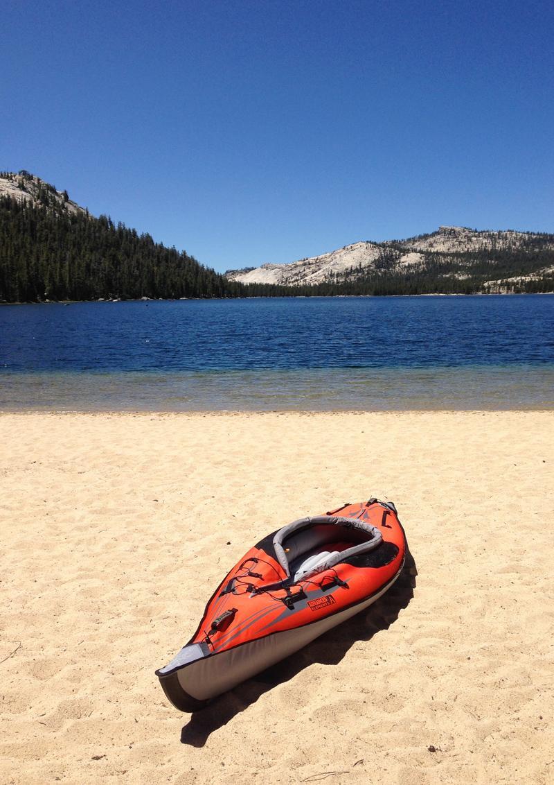 MobileTravelChallenge - Tenaya Lake, Yosemite