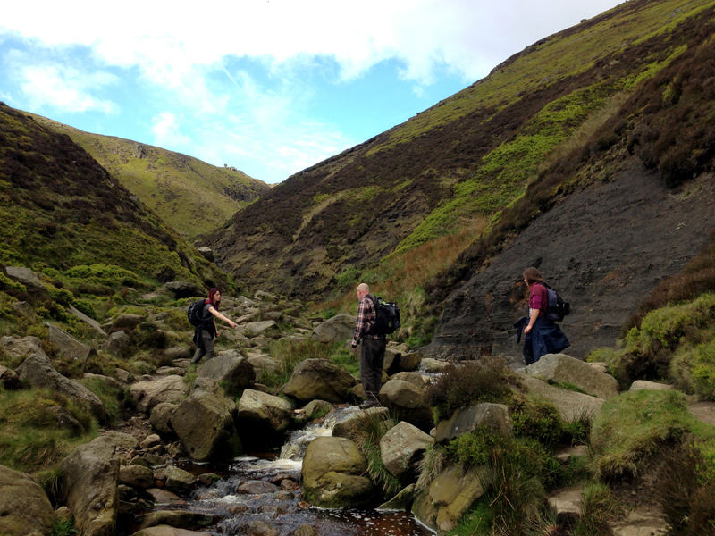 Crossing Grinds Brook