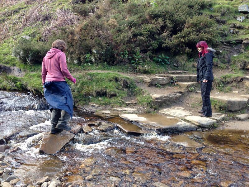 Crossing a Brook
