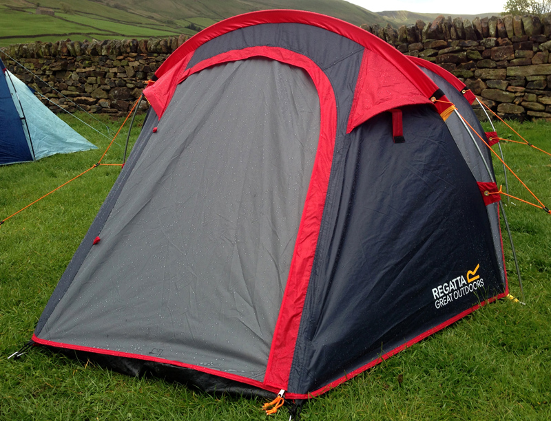 Review: Regatta Halin Point 214 Two Man Tent