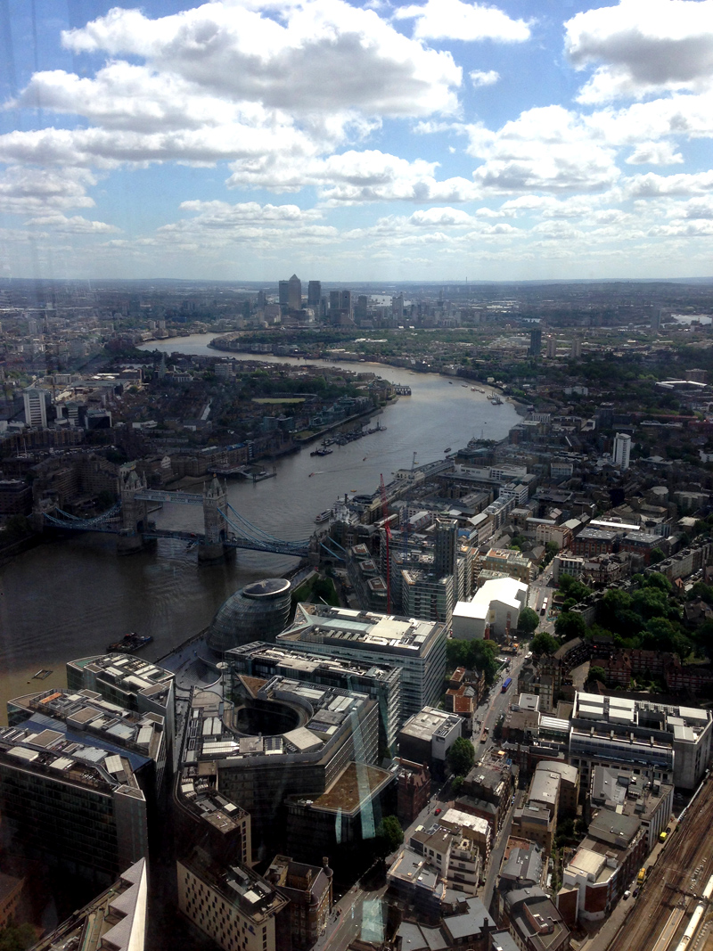 The View from the Shard - Splodz Blogz