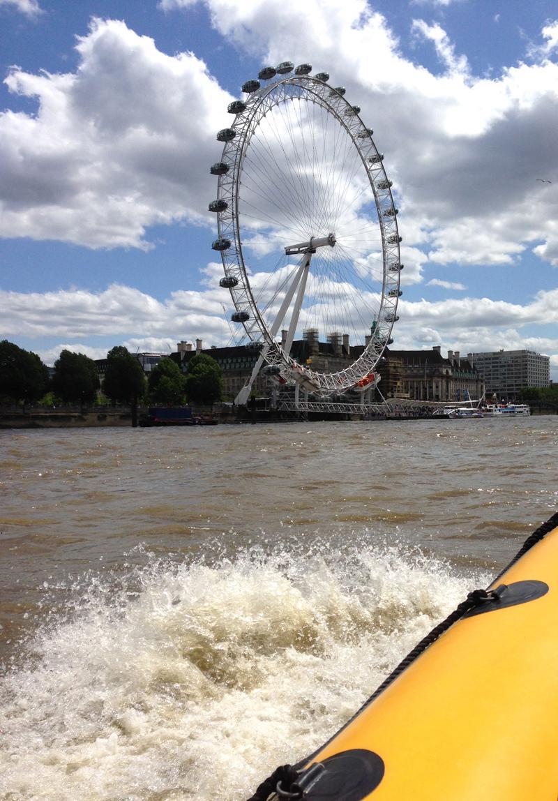 Thames RIB Experience - RIB and Eye