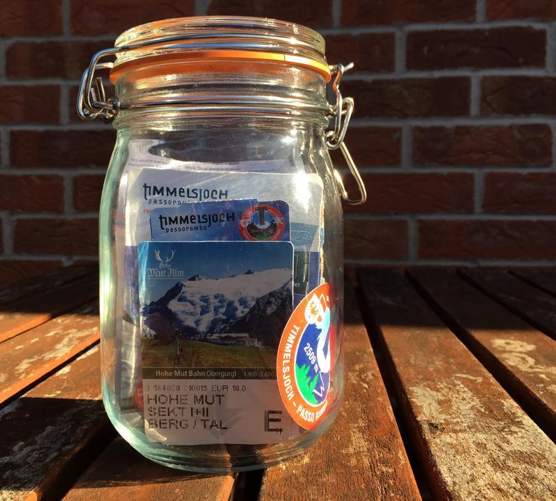 Jam Jar of Memories - Splodz Blogz