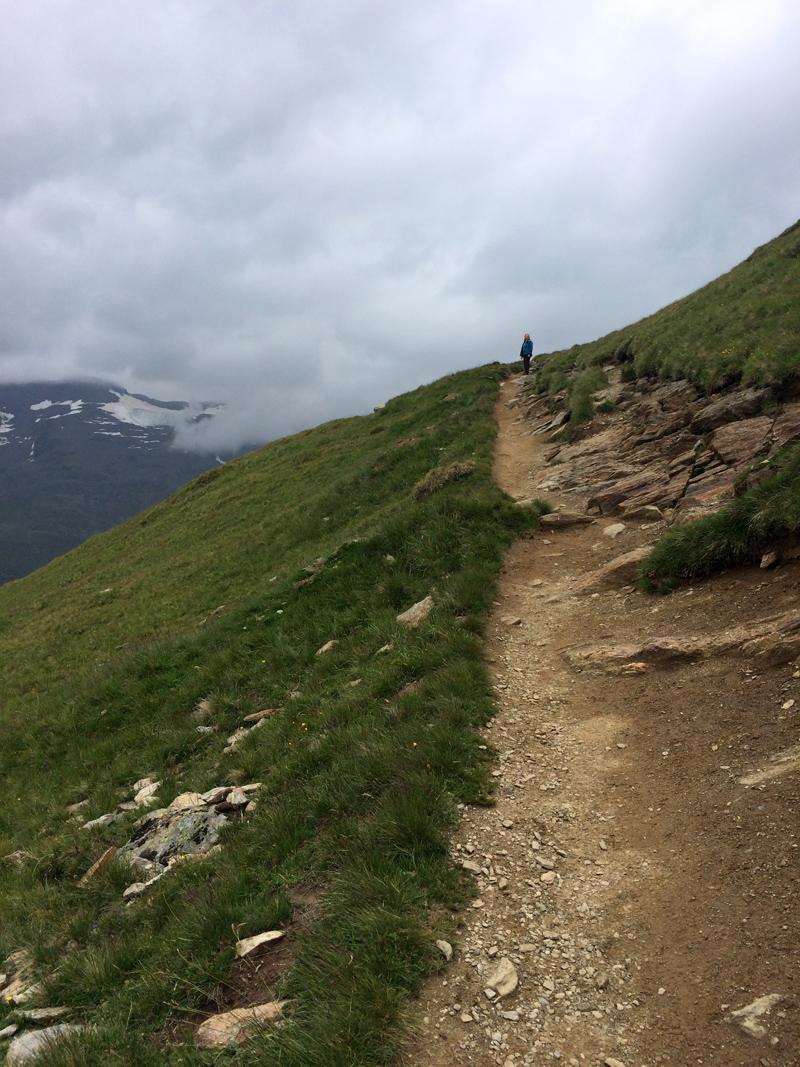 Hiking on Hohe Mut, Obergurgl, Alps, Austria > Merrell All Out Blaze Sieve Hiking Shoes / Sandals - Splodz Blogz