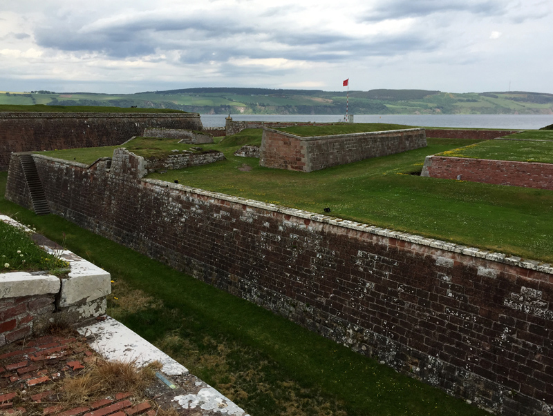 Scotland by Motorbike - Fort George