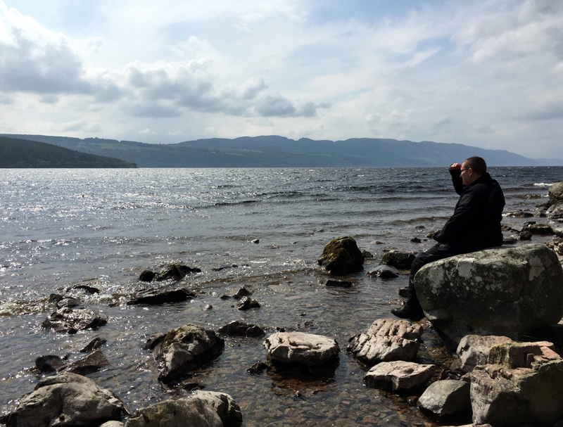 Scotland by Motorbike - Loch Ness