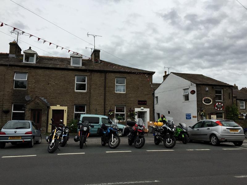Scotland by Motorbike - Hawes