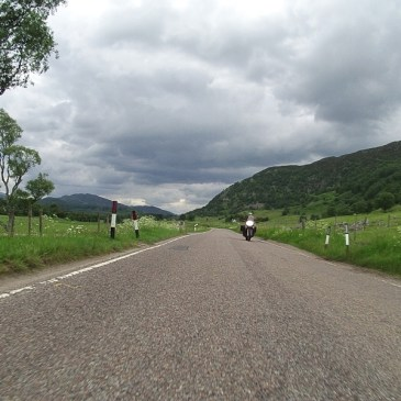 EXPLORING SCOTLAND BY MOTORBIKE