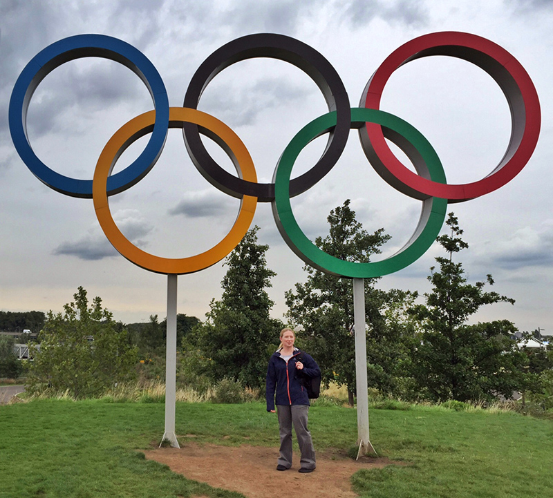 Me and the Olympic Rings
