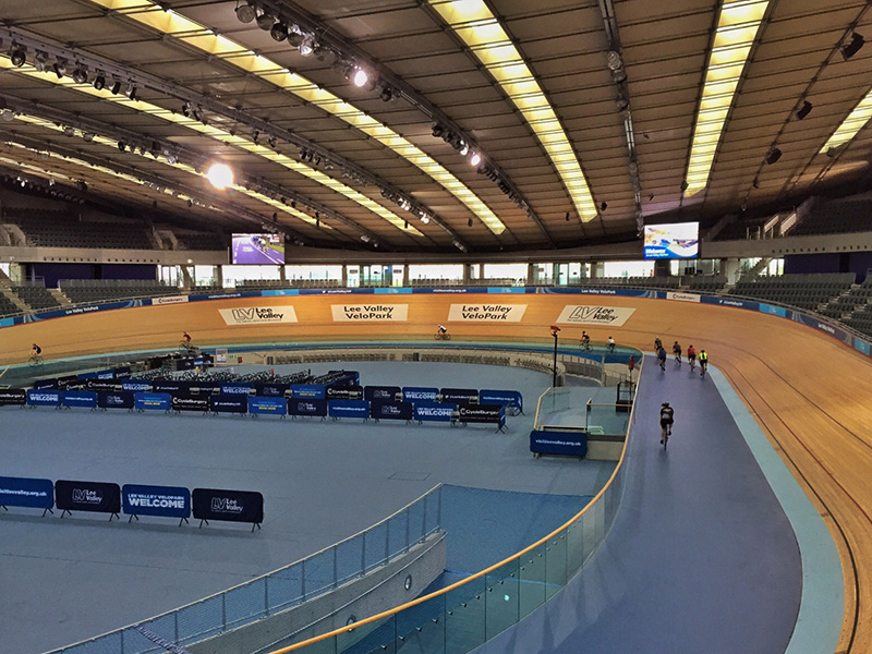 Inside Lee Valley VeloPark Track