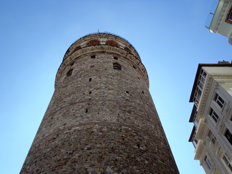 TopDeck Turkey Diary - Galata Tower