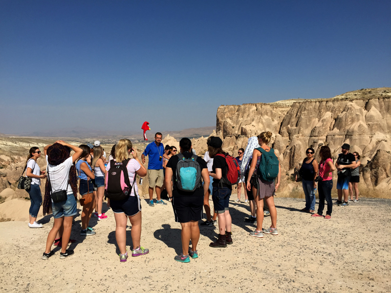 TopDeck Turkey Diary - Tour Group in Cappadocia