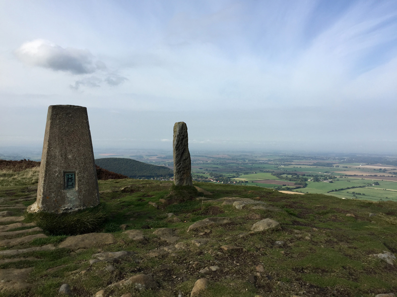 Lyke Wake Walk - Trig Point