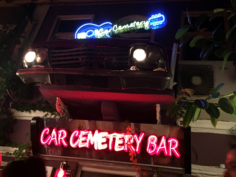 TopDeck Turkey Diary - Car Cemetery
