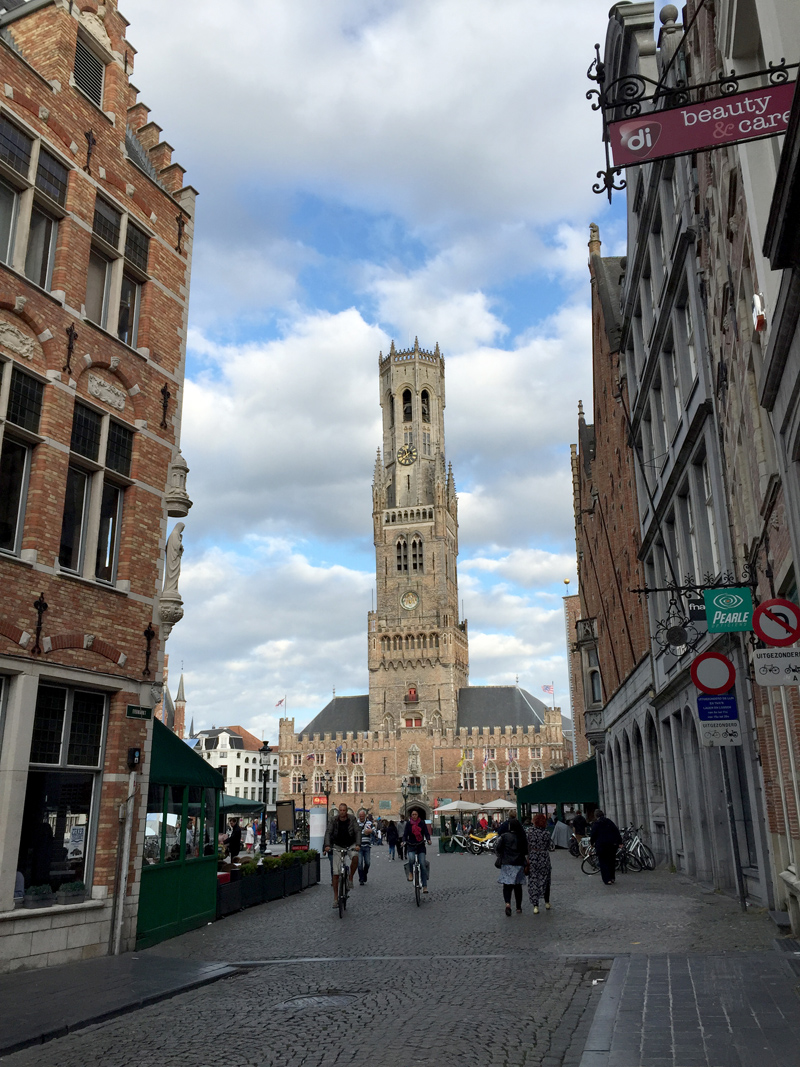 Motorbike Tour of Europe - Bruges