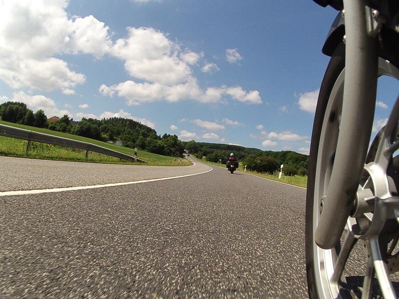 Motorbike Tour of Europe - Riding