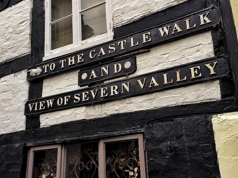 Castle Walk, Shropshire - Splodz Blogz
