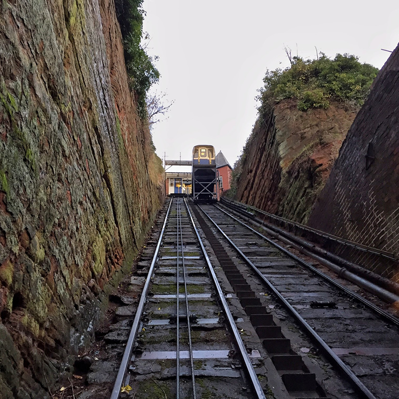 Cliff Railway, Bridgnorth, Shropshire - Splodz Blogz