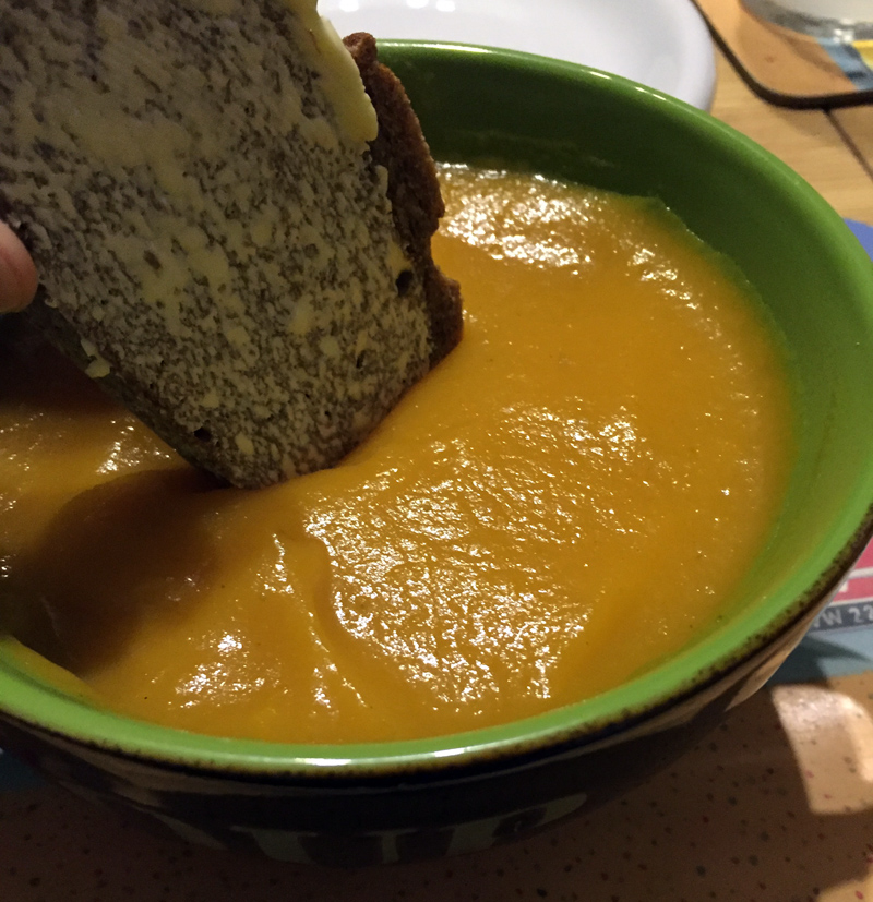 Splodz Blogz Carrot Soup Recipe
