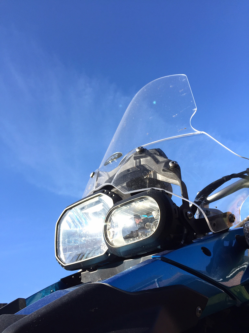 BMW F650GS and Blue Sky