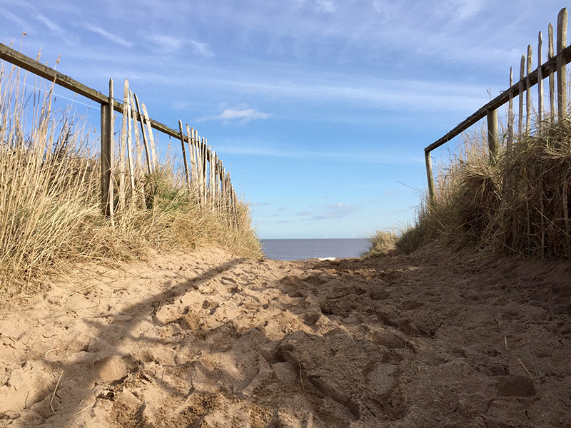 The Beach and Sea at Wolla Bank, Lincolnshire