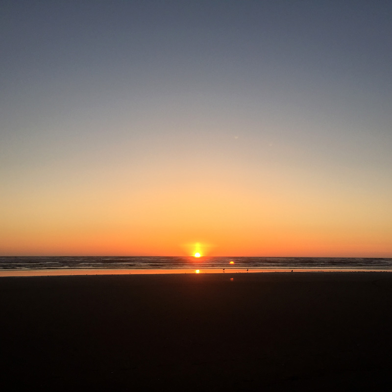 Zartusacan - Ocean Shores Sunset