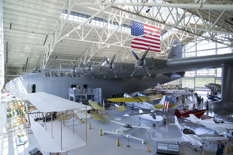 Aircraft Hangar at the Evergreen Aviation and Space Museum