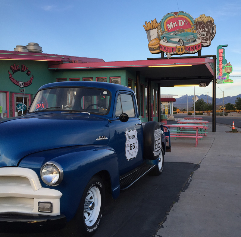 Zartusacan - Mr D'z Diner in Kingman, Route 66