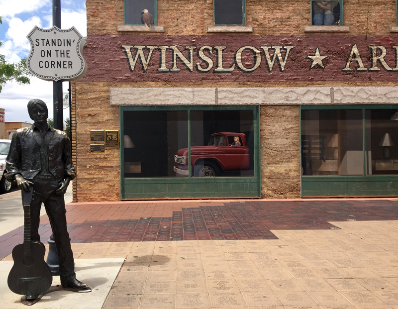 Zartusacan - Winslow Arizona, Route 66